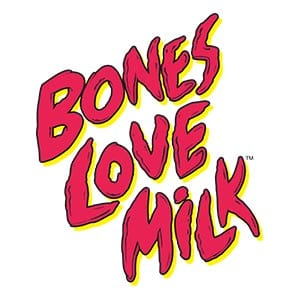 Bones Love Milk Logo