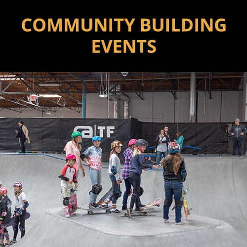 COMMUNITY BUILDING EVENTS