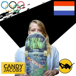 Candy Jacobs flew out from the Netherlands to skate Exposure's first street event in 2015 and took home the silver. Her growth and progression has been incredibly inspiring to watch. We can't wait to see her shred at #Tokyo2020 #Olympics with Team Netherlands. #exposureskate.  2nd Place Exposure Pro Street 2015  Photo 1: www.Boardriding.com Photo 2: Jeff Greenwood