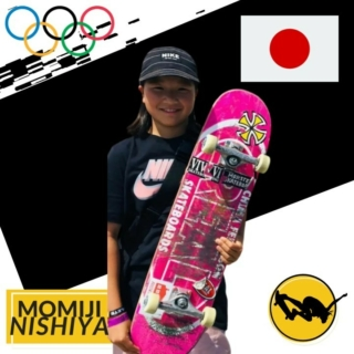 @MomijiNishiya blew us away with her Virtual Exposure street video. She ended up winning 🥈 and was also a contender for best trick. Japan is lucky to have Momiji on their Olympic team. Go Momiji!! #Tokyo2020 #Olympics #exposureskate  Japan  7th Place Virtual Exposure Best Trick Street 2020 2nd Place Virtual Exposure BVP Street 2020  Photo 1 from Momiji's page Video from Momiji's Virtual Exposure video part.
