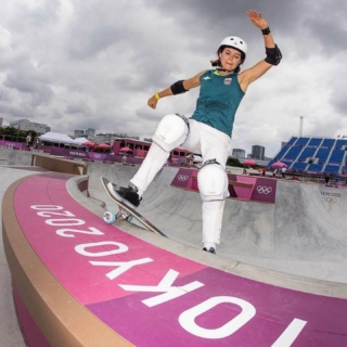ARE YOU READY?!? Don't miss the first ever Olympic Women's Park Skateboarding Event, TOMORROW, August 3, 2021! ⚡️ News flash! 65% of the Olympic Park competitors have participated in @exposureskate events and programs!! We are SO excited to watch ALL of the Olympians! And, we PROMISE that we aren't biased, but we are sending some super special good vibes to our Co-Founder and President, Amelia Brodka, as she represents Poland! WE LOVE YOU, Amelia! ✨✨Wanna watch it go down? Links and info in our bio!✨✨ . . #Repost @ameliabrodka with @make_repost ・・・ If you told me a few years ago that one day I'd get an @atibaphoto , skate in the @olympics AND skate in white pants, I'd think you're crazy. And yet here we are in #tokyo2020 getting our first grinds in the park. 🤯🎉🥳 @worldskatesb 📸 @atibaphoto @brycekanights @jaimeowens 🇵🇱@polishskatefederation @pkol_pl