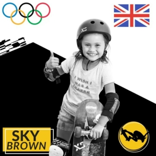 @skybrown 's first skateboarding competition was Exposure 2015 . She flew out from Japan to compete in both Am Bowl and Am Street. She was only 7 yearsold at the time but her technical tricks such as front 50 50s to fakie earned her 3rd place in bowl. Her bag of tricks has grown exponentially since then and we are excited to see her represent Great Britain in #Tokyo2020 #exposureskate   3rd Place Exposure Am Bowl 2015 6th Place Exposure Am Street 2015  Photo 1: @joannebarratt_photo  Photo 2: @kenhada